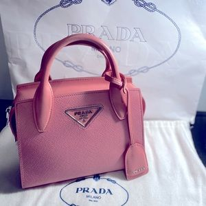 Prada Borsa Saffiano leather Kristen handbag